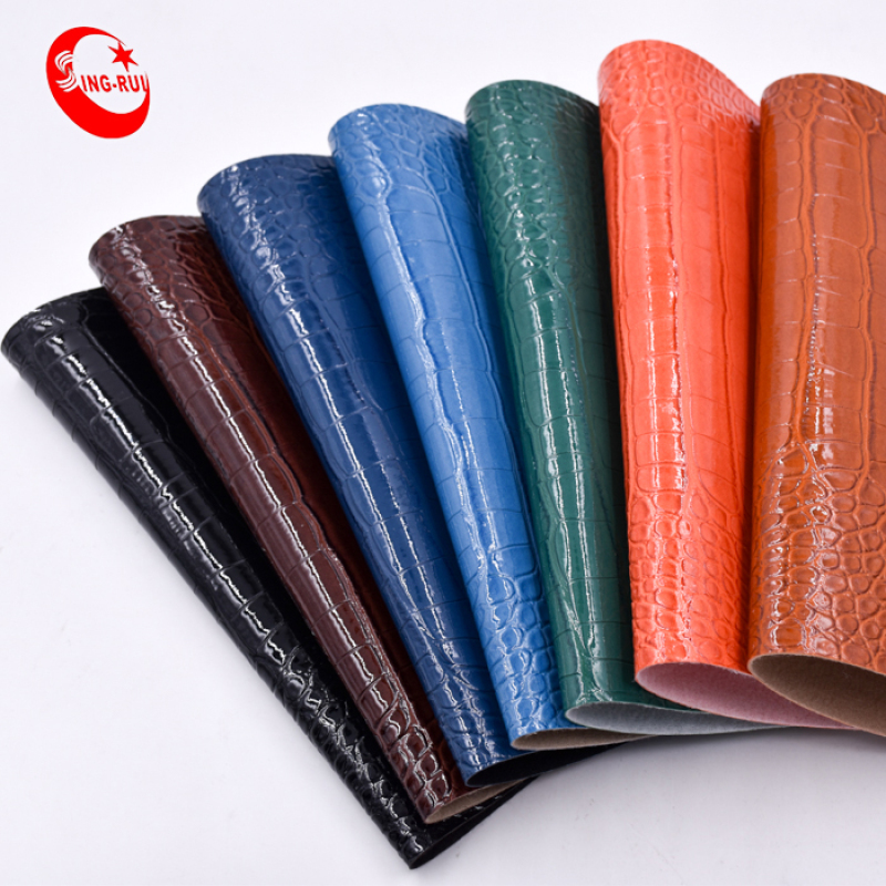 New Synthetic PVC Leather for Bag Factory in Wenzhou