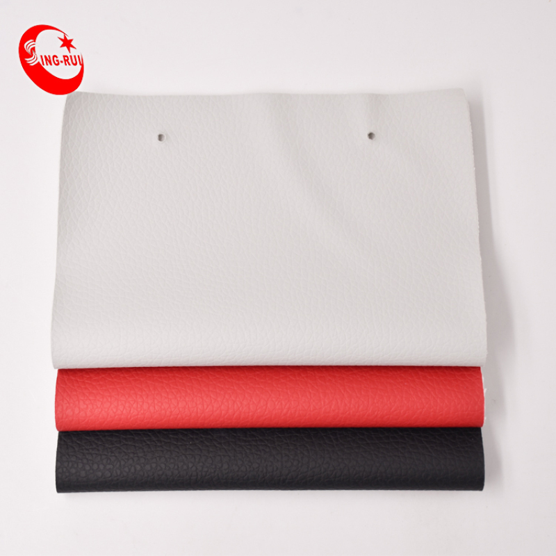 Hot Selling Manufacturer Solvent Free Eco Friendly Products China Imitation Pu Faux Leather To Shoes