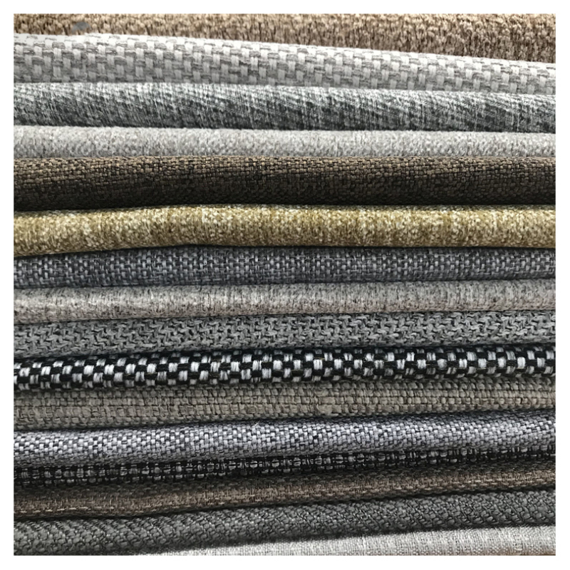 Cheap price Sofa cloth 100% Polyester Knitted fabric Sofa Materials