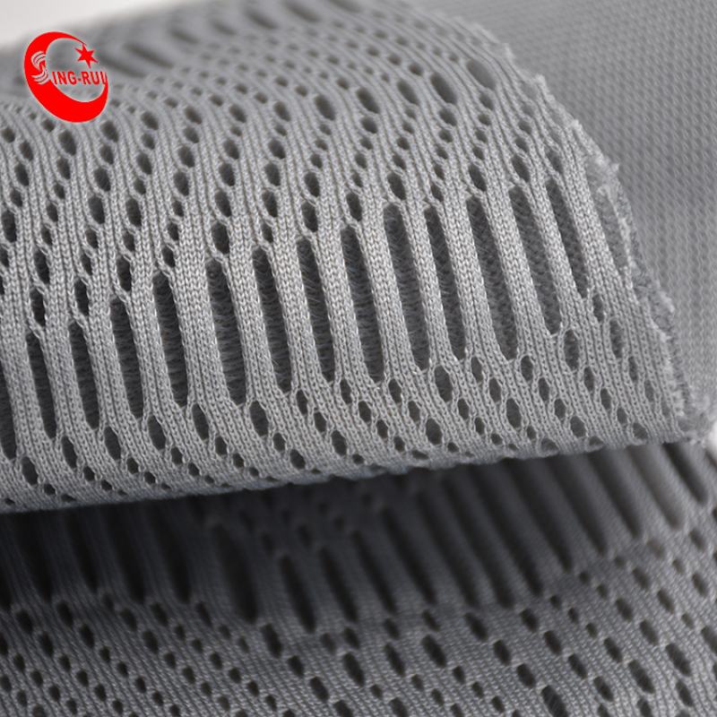 100% Polyester airmesh 3D Colorful  Mesh Fabric For Sport shoes