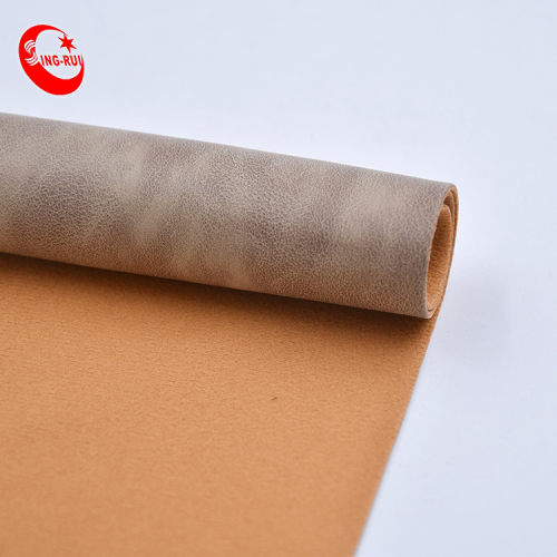 China Leather Manufactures Litchi Grain Leather Pu Artificial Material Abrasion-Resistant For Making Shoes