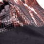 Eco-Friendly Polyester Crocodile Design In Fashionable Effect With Foil New Development Knitted Fabric For Bag And Shoes