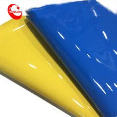 Флуоресцентная лакированная синтетическая кожа PU для обуви