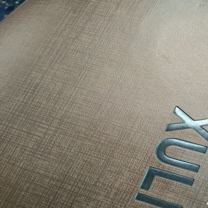 Change Color Artificial Pu Leather for Notebook and Jeans Label Leather for Dairies