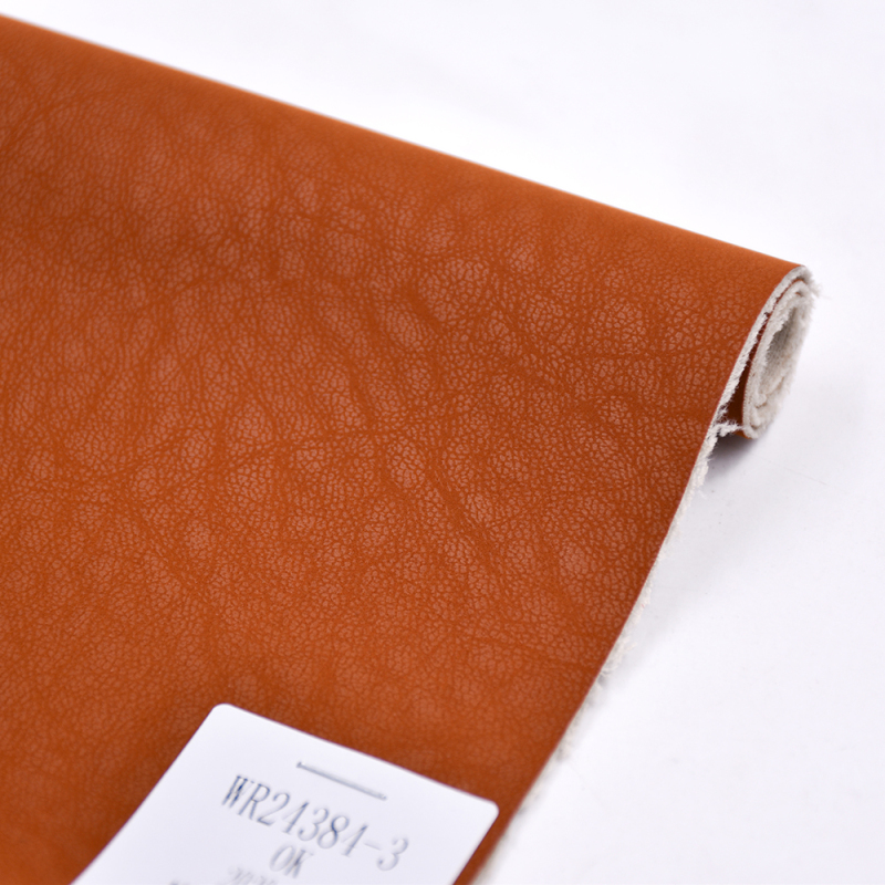 Popular Leather Fabric Pu Super Soft Eco Friendly Artificial Leather Colorful Vegan Leather Material Use For Shoes