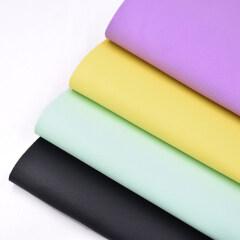 Оптовый современный полиэфирный нетканый материал, экологически чистый, сделанный из переработанной пластиковой бутылки, обычная ткань для дивана, для обивки обуви