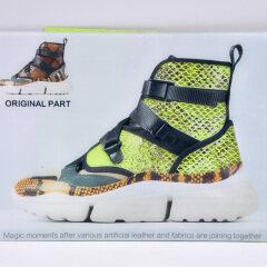Высококачественная вязаная ткань с принтом, водонепроницаемый диван, цифровое проникновение, печать, обувь, ткань для сумки, украшения обуви