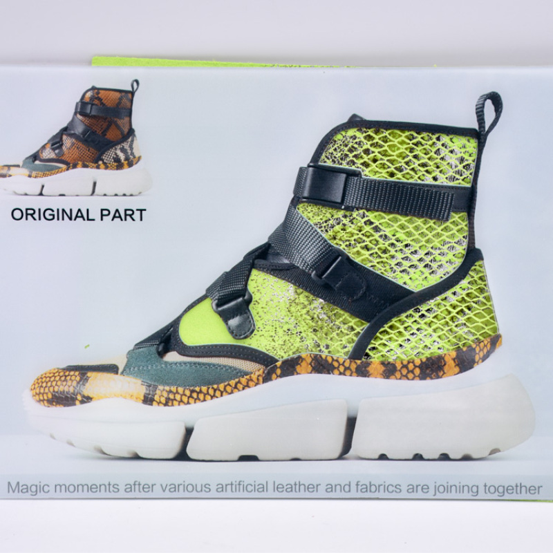 High Quality Printed Knitted Fabric Waterproof Sofa Digital Penetration Printing Shoes Fabric For Bag Shoe Decoration