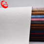 Embossed Leatherette Fabric Cotton Backing Plaid Leather
