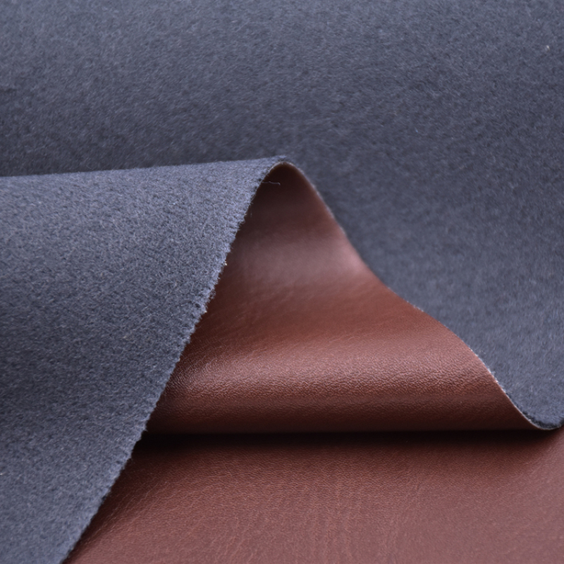 Skin Pattern PU Material Leather 1 meter MOQ for shoes