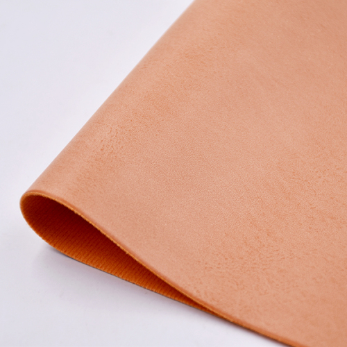 Two Tone Classic PU Artificial Material Leather for shoes without MOQ