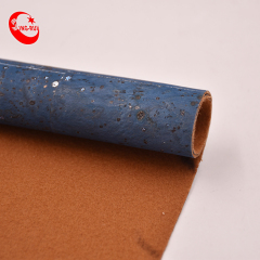 Low Moq Can Customize Pattern Portugal Natural Real Wood Design Bread Veins Recycled Cork Leather Fabric