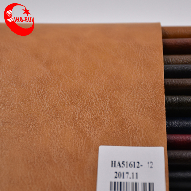Oily Leather With Crazy Horse Effect Embossed Leather Crazy Horse Leather