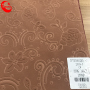 New Pattern Embossed Polyester Flocking Fabric for Sofa