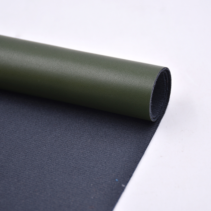 1 Meter MOQ Raw PU Leather Goods Material to make shoes