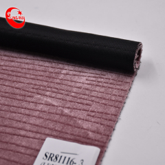 Faux embossed suede fabric for making shoes/bags