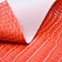 Imitation Cotton Backing Pvc Leather Patent Oil Leather