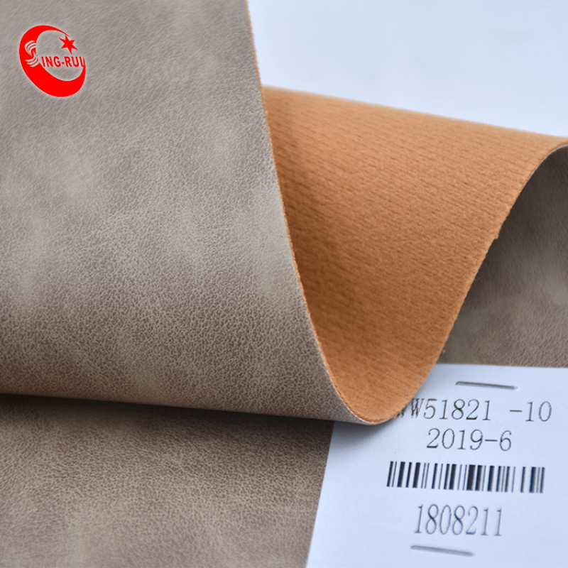 Wholesale Stock Synthetic Leather South American Soft Embossed Pu Leather Printing Material For Making Shoes