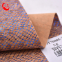 Natural Cork Raw Material Fabric No Harmful To Human Body Pu Leather Belt Material Cork Fabric For Bag Making