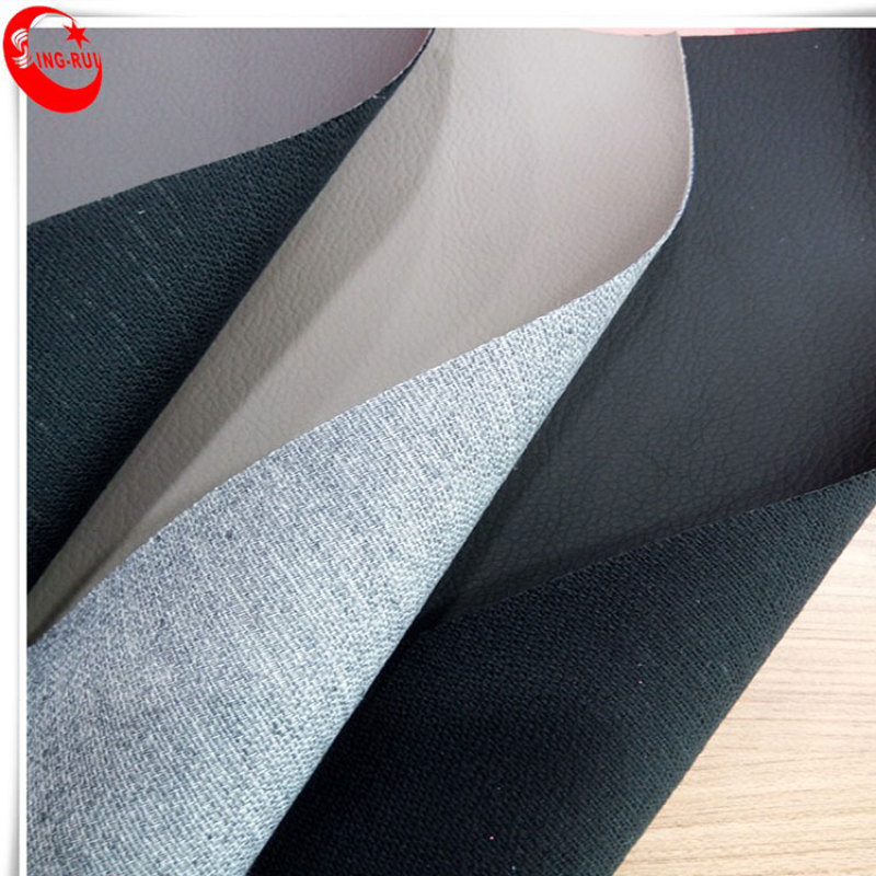 Litchi Grain PU High Temperature 70% leather, 30% pes High Pressure Back Synthetic Leather