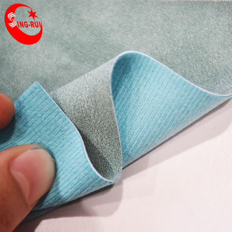 PU Leather Washed Stock Leather for Shoes