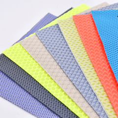 Eco-friendly 600D RPET Polyester Mesh Fabric Discount Fabric for Sport Shoes