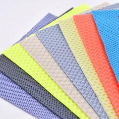 Экологичная ткань со скидкой из полиэфирной сетки 600D RPET для спортивной обуви