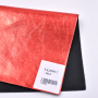 Custom Color Soft Metallic Blasting Nowoven Film Synthetic PU Leather Fabric For Shoes or Bags