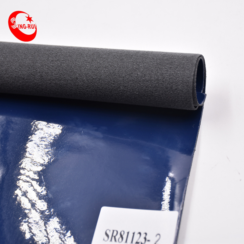 Wholesale Faux Pu Patent Leather Fabric