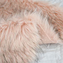 Оптовая продажа 100% полиэстер, плюшевый кролик, искусственный мех, ткань, домашний текстиль
