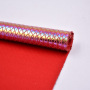 Cotton Fabric Snake Design Embossed In Fashionable Effect With Foil New Development Foiled For Bag And Shoes