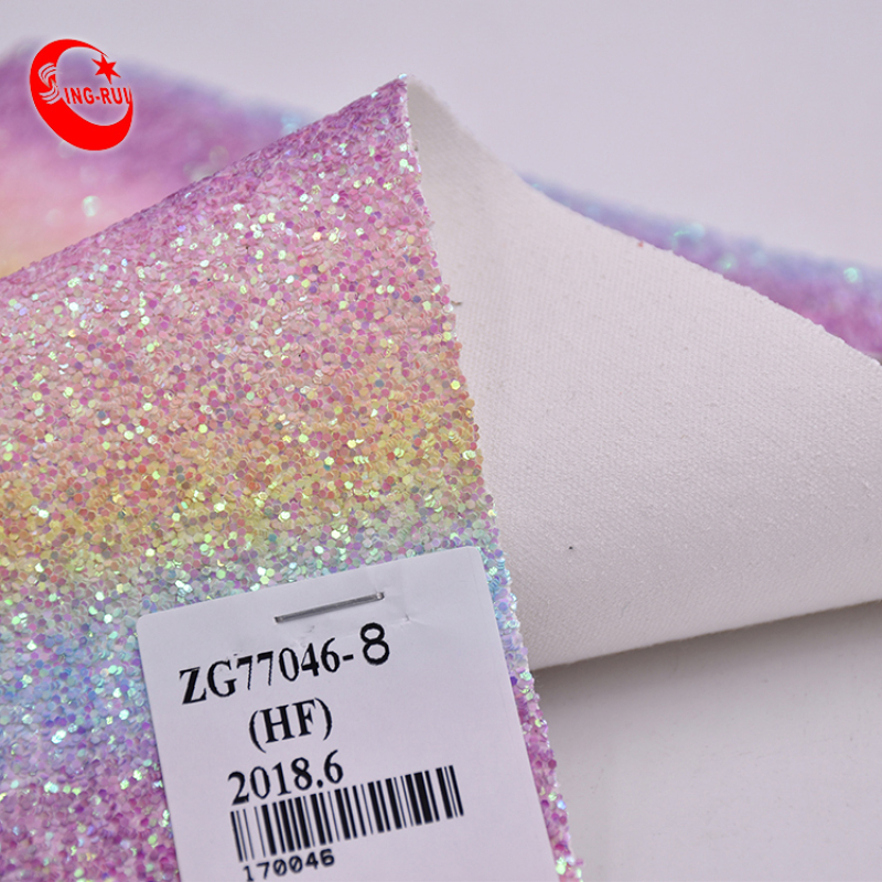 COLORFUL GLITTER USED FOR BAG AND WALLPAPER