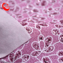 shiny flowers paillette  Glitter Fabric Leather For shoes or other