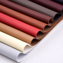 Dmf Free Pu bonded Leather 100% Rpet Backing Fabric Solvent Free 100% Waterborne Recycled Leather For  Bag