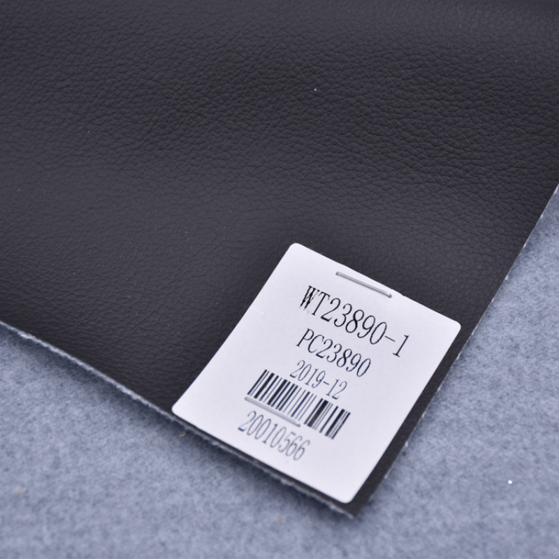 Embossed Pu Eco Leather Soft De90 Grain With Very Cheap Price Item For Sofa Chair Or Car Seat Solvent Free