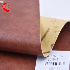 Natural Leather Shoes Material Full A4 Pu Leather Embossed Fabrics Imitation Leather Stamping Leatherette Types Fabric For Shoes