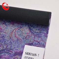 Printed Leather Fabric Rolls Embossing Artificial Leather Fabric