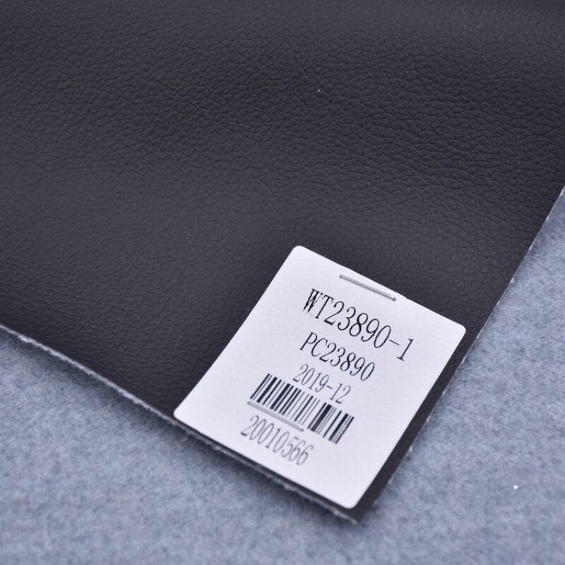 Very Cheap Anti-Mildew Color Grain Peeling Strength 2.0Kg Pu Handbag material Vegan Solvent-Free Synthetic Leather
