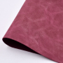 Pink Yangba Leather Faux PU Leather No MOQ Material for shoes