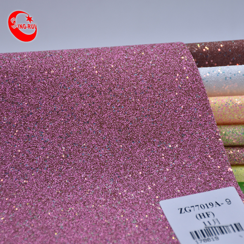 Shoe Material Fabric Wholesale Glitter Fabric
