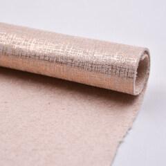 Кожа PU из синтетической микрофибры Metallic Plaid Design для обуви для сумки