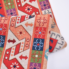 New design sofa fabric Middle Eastern classic totem pattern upholstery fabric solid fabric