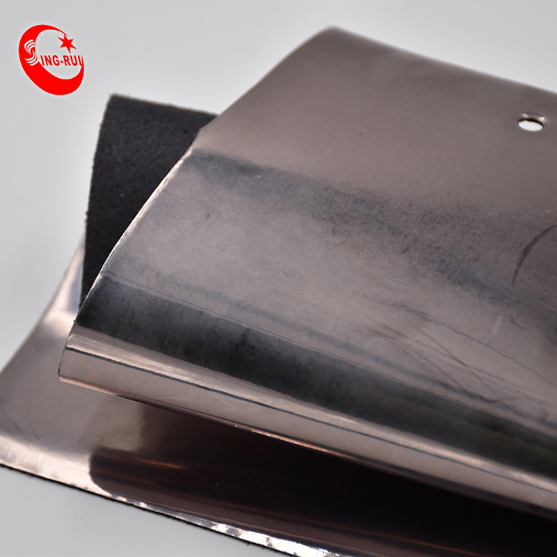 Patent TPU Synthetic Black Leather Materials For Upper Shoes