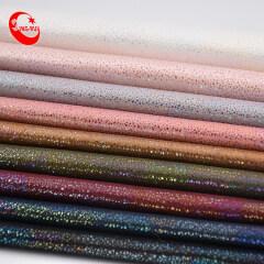 Оптовая торговля кожаная пунктирная ткань Yangbuck Pu искусственная кожа для обуви