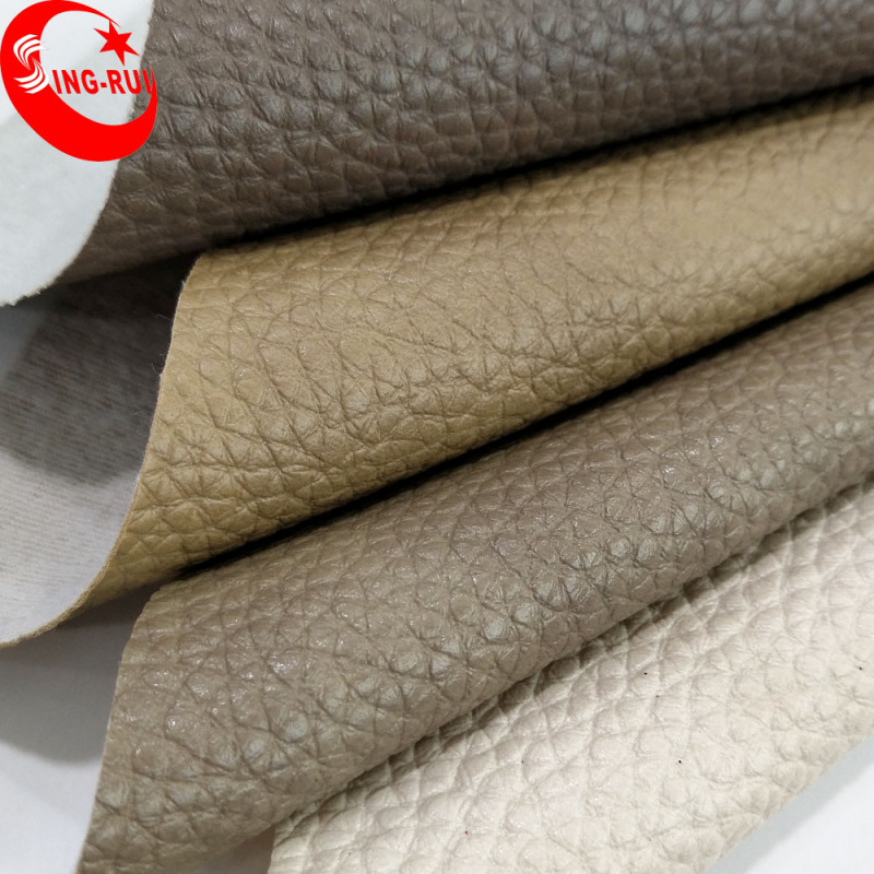 Wenzhou Embossed Elephant Grain PVC Material Synthetic Leather