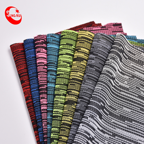 For Sports Shoes Polyester Warp Cotton Knitted Fabric