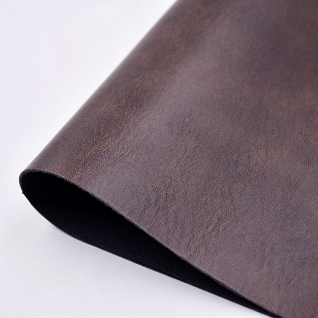 Cow Skin PU artificial leather capellada shoe material 1 meter MOQ