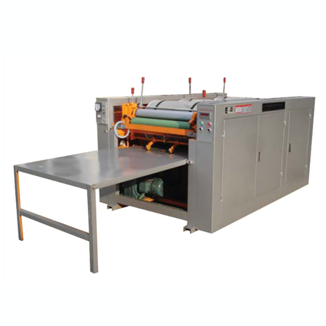Zhuding multicolor mini small auto offset printing machine for sale