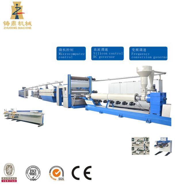 Cam type PP woven tape winding machine