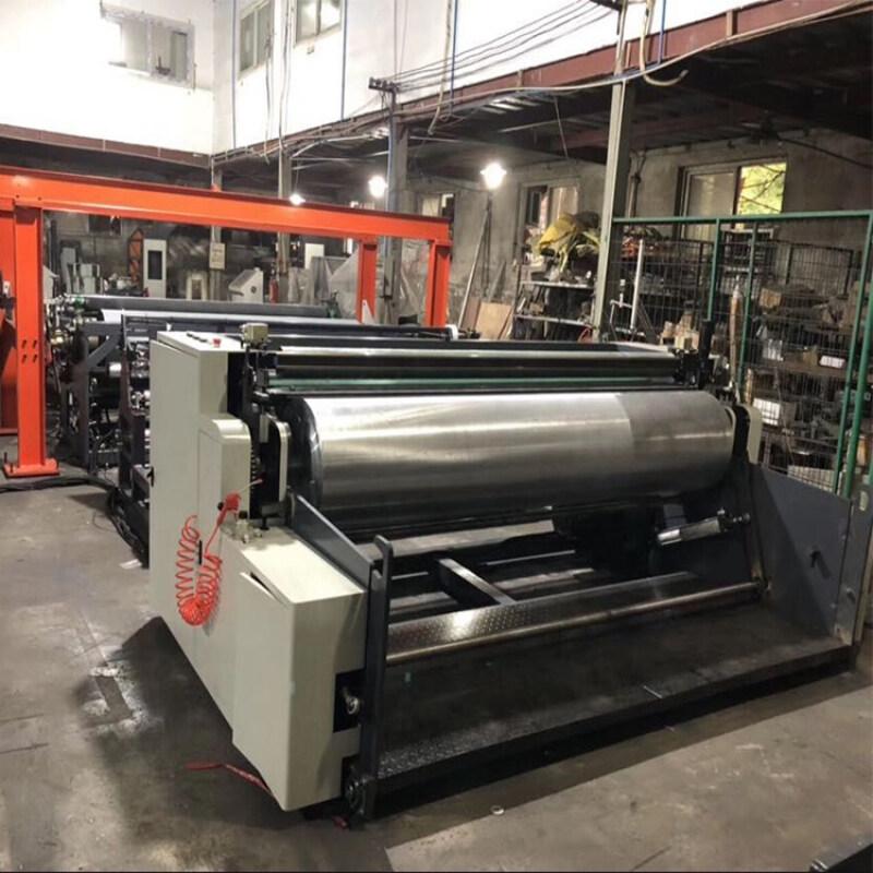 Protective non woven fabric coating lamination machine plant